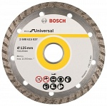Диск алмазный BOSCH Eco Universal Turbo 125х22мм
